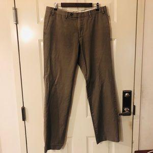 Varvatos Men's Dress Pants lightweight tan 36R